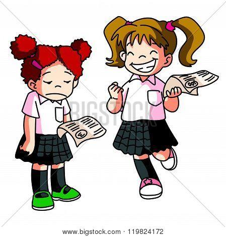 kid School Score Examination