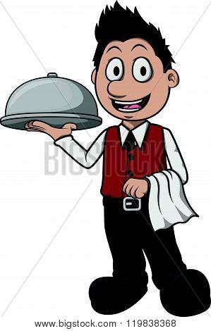 Waiter boy