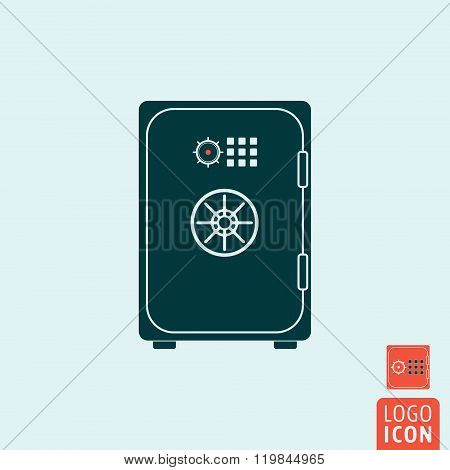Safe Icon Isolated