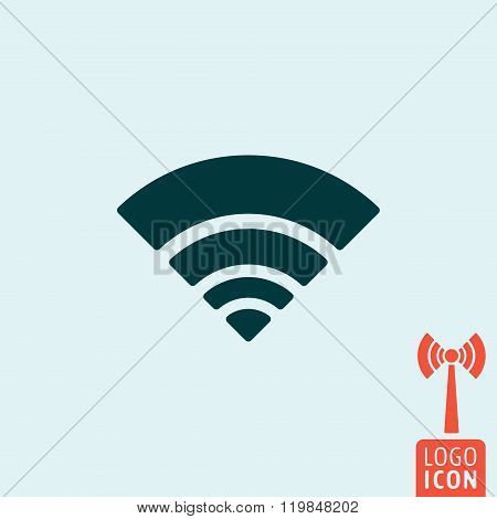 Wifi Icon Isolated
