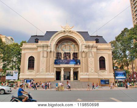 The Municipal Theatre of Ho Chi Minh City.