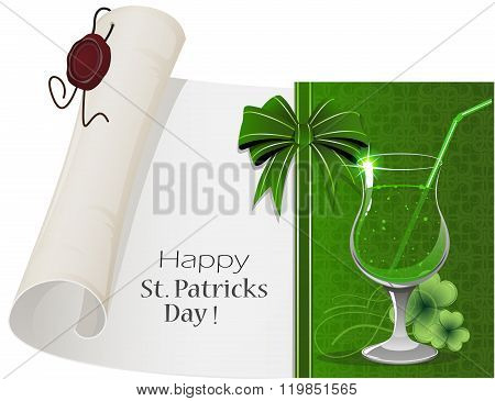St. Patrick's Day Cocktail