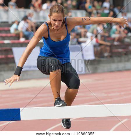 Steeplechase Runner