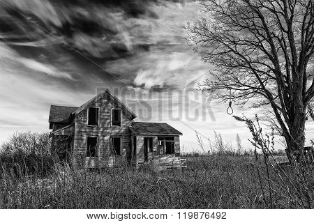 Creepy Old House