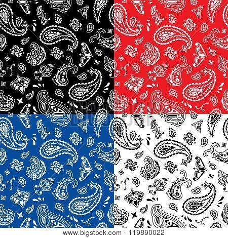 Bandana Seamless Pattern