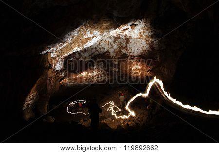 Underground Cave Chamber