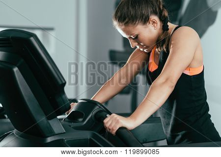 Trreadmill Exercising