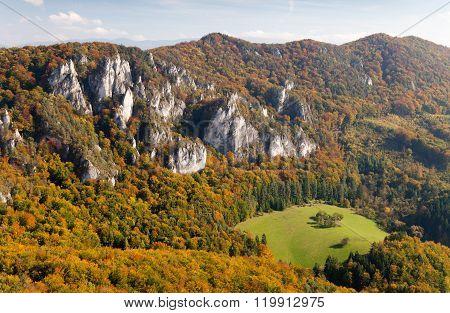 Sulov Rockies - Sulovske Skaly - Slovakia
