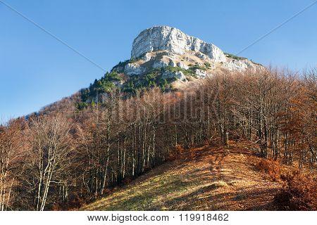 Mount Klak, Autumnal View From Mala Fatra Mountains