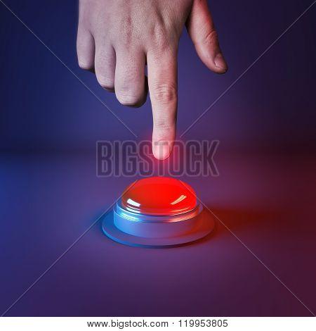 Pushing A Panic Button