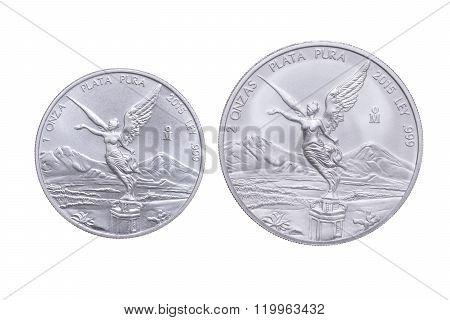 Mexican Bullion Silver Coin Comparison