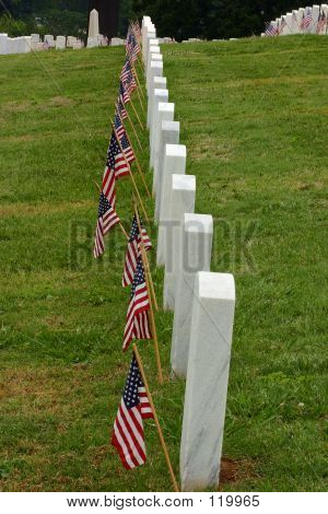Row Of Tombstones