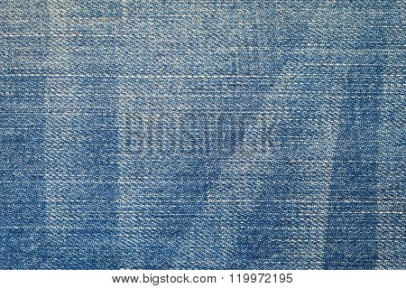 Denim Texture Or Jean For Background