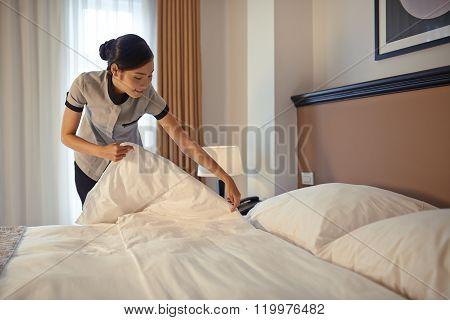 Arranging blanket