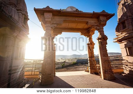Temple Arch In India