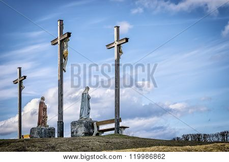 Jesus Cross In Bavaria