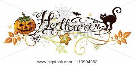 Halloween tendril