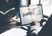 Politics Political Conflict Diplomacy Society Debate Concept poster