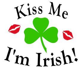 Kiss Me I'M Irish Redlips