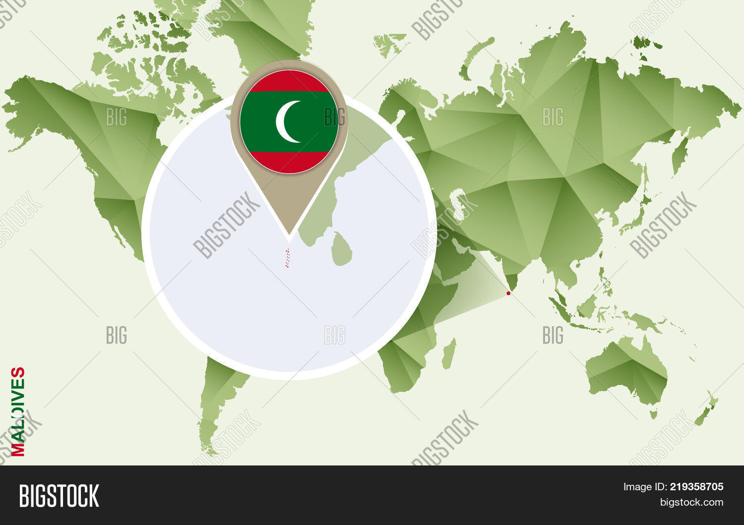 Infographic Maldives Vector & Photo (Free Trial) | Bigstock