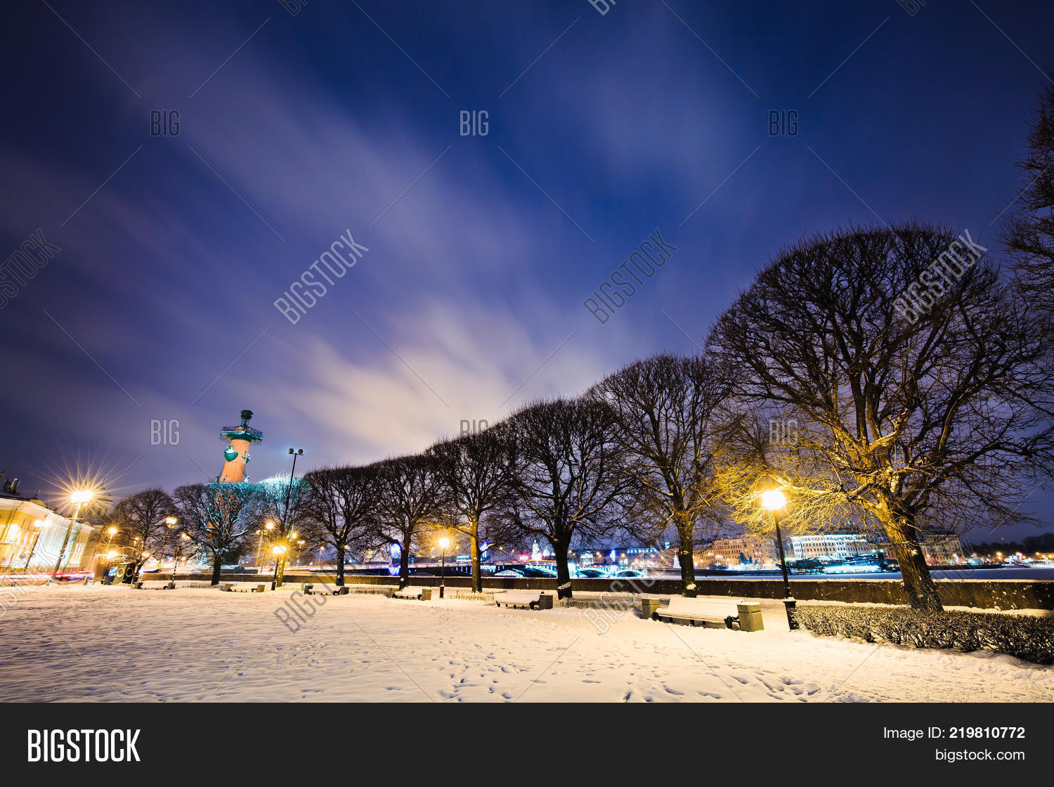 benches under snow image photo free trial bigstock