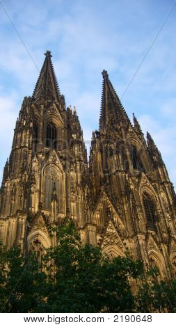 The Dom Cologne Germany. Gothic
