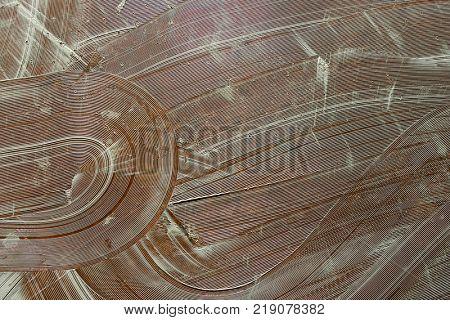 Glue on Floor Background