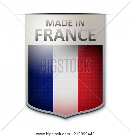 An image of a nice made in france badge