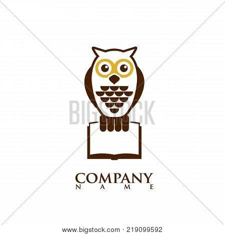Owl icon, owl logo design,vector image owl logo template