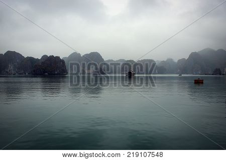 Scenic view of Ha Long Bay, Vietnam