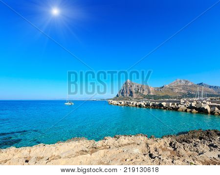 Bue Marino Beach, Macari, Sicily, Italy
