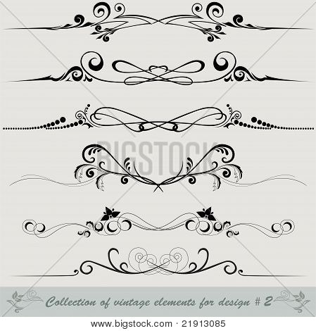Collection Of Vintage Elements 2