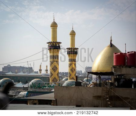 Shrine of Imam Hussain ibn Ali in Karbala Iraq