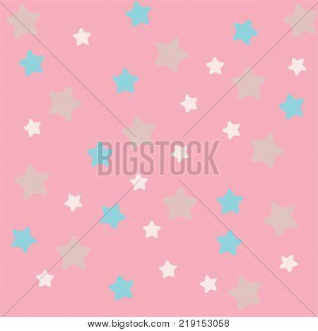 Cute Star Memo, Wallpaper, Background