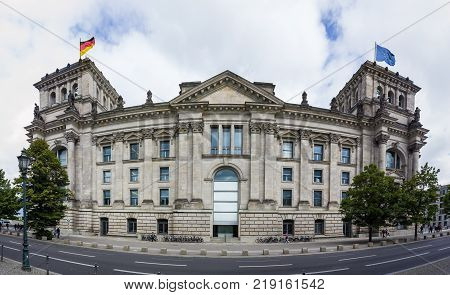 Berlin Palace Of The Reichstag