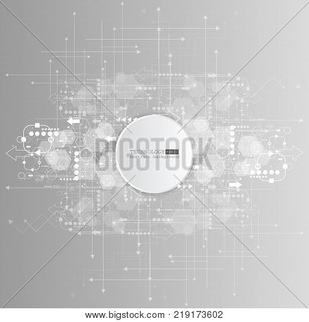 vector background abstract technology communication concept. esp 10