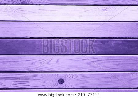 Light UltraViolet wood plank wall texture background