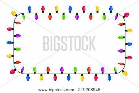 light bulb garland vector photo free trial bigstock