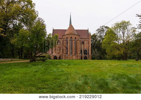 Chorin Abbey is the former Cistercian abbey near the village of Chorin in Brandenburg Germany. Founded in 1258.