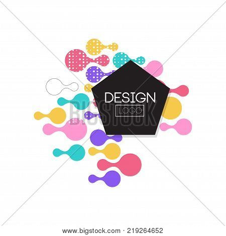 Design logo template, label for brand, company identity, business logotype vector Illustration on a white background