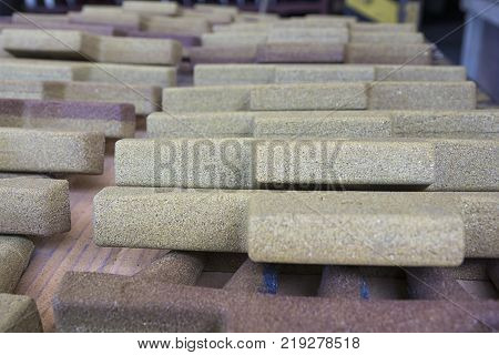 Cores made from Resin Coated Sand for Iron Casting product