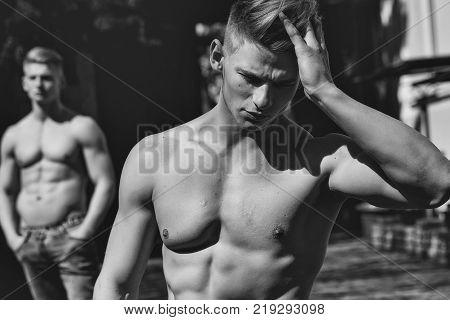 Twin Male Models