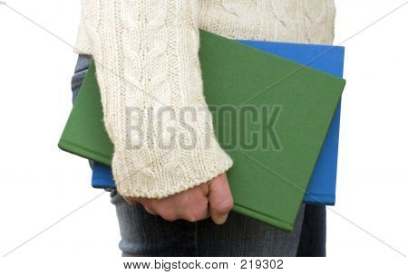 Holding Books By Your Side