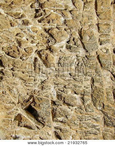 dark yellow river stone texture