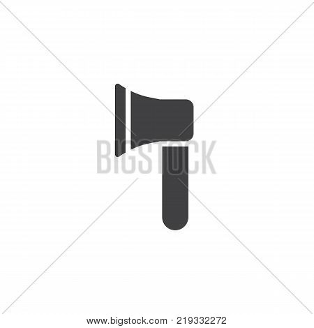 Axe icon vector, filled flat sign, solid pictogram isolated on white. Ax symbol, logo illustration