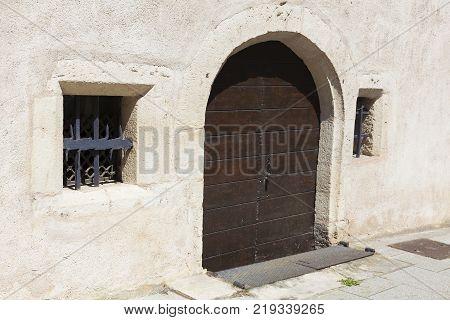 Architecture of Dole in the Jura Bourgogne-Franche-Comte France