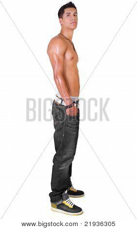 Shirtless Pose