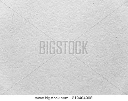 White coarse textured paper sheet for watercolor painting