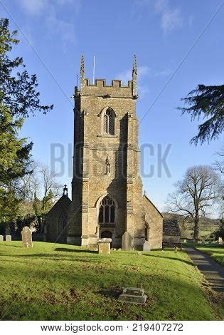 St Peter and St Paul Church, Charlton Horethorne, South Somerset 14th century with 15th century Tower Grade II listed