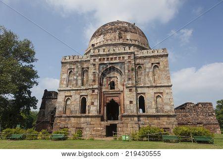 Mosque in the Lodhi garden New Delhi India